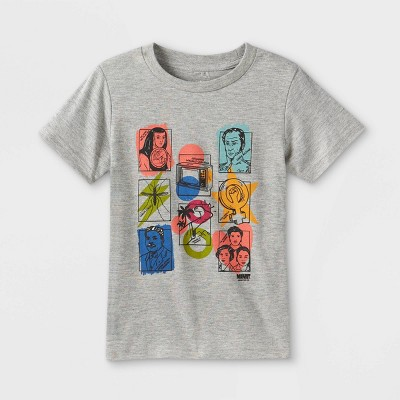 Latino Heritage Month Toddler Latin Heroes Short Sleeve T-Shirt - Gray