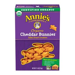 Annie's Cheddar Bunnies Baked Snack Crackers - 7.5oz