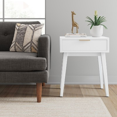 Hafley One Drawer Table White   Project 62™ : Target