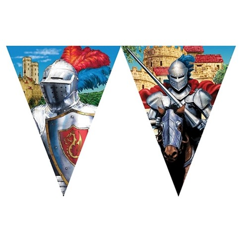 Knight in Shining Armor Party Banner - image 1 of 1