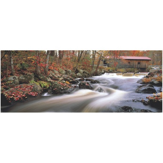 Pressman Images Of America: Wistful Waters Panoramic Puzzle 504pc image number null