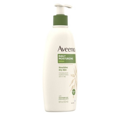 Unscented Aveeno Daily Moisturizing Lotion For Dry Skin - 18 fl oz