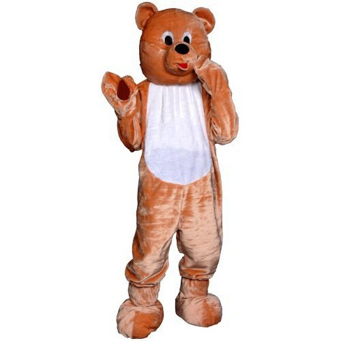 Adult Teddy Bear Mascot Costume - image 1 of 1