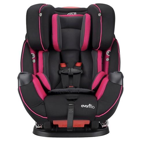 EvenfloR SymphonyTM DLX Convertible Car Seat Raspberry Sorbet Target