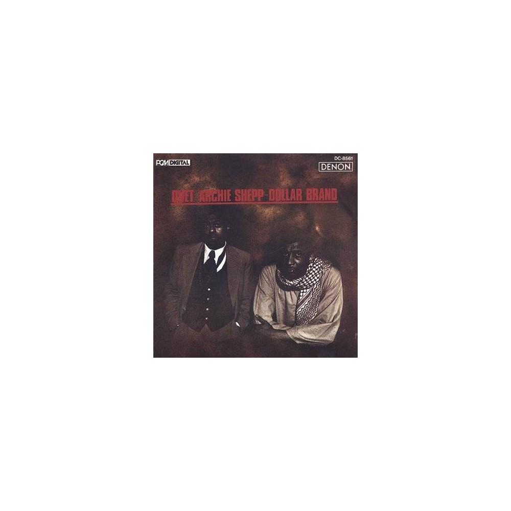 Archie Shepp - Dollar Brand Duet (CD)