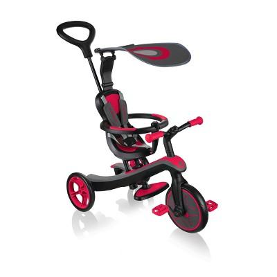 Globber 4 in 1 Explorer Trike - Red