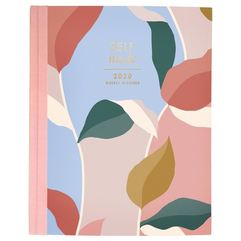 """2020 Planner  9.875""""x 7.5"""" Leaves - Create & Cultivate - image 1 of 4"""