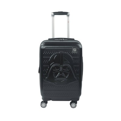 "FUL Star Wars Darth Vader Embossed 21"" Carry On Spinner Suitcase - Black"