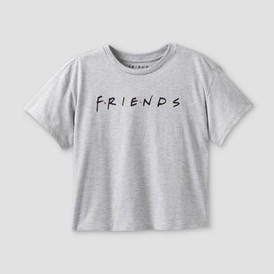 Girls' Friends Graphic Short Sleeve T-Shirt - art class™ Gray