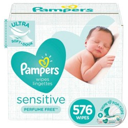 Pampers Sensitive Wipes Pop-Top
