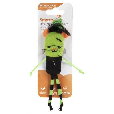 SmartyKat Halloween Bouncy Mouse Cat Toy