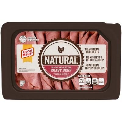 Oscar Mayer Naturals Slow Roasted Roast Beef - 7oz