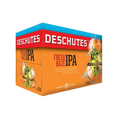 Deschutes Fresh Haze Hazy IPA Beer - 6pk/12 fl oz Cans - image 1 of 1