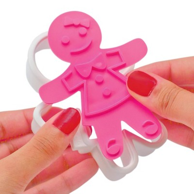 Tovolo Ginger Girl Cookie Cutters Assorted 81-3811