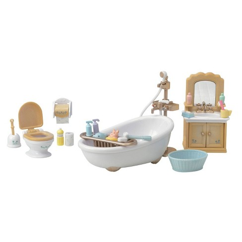 Calico Critters Country Bathroom Set - image 1 of 4