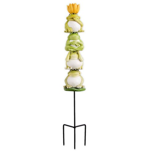 "Outdoor Garden Stackable Decorative Totem, 24""H - HearthSong - image 1 of 2"