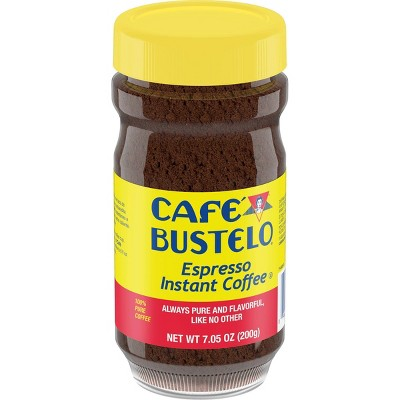 Café Bustelo Espresso Dark Roast Instant Coffee - 7.05oz