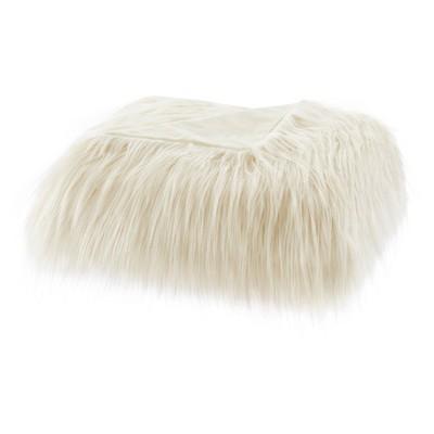 "50""x60"" Adelaide Faux Fur Throw Blanket"