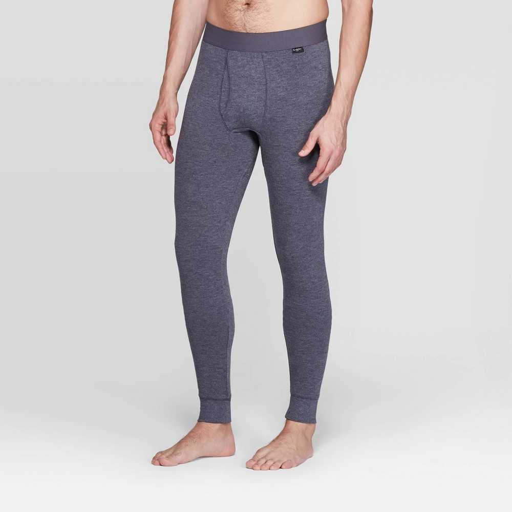 Men's Tall Premium Ultra-Soft Thermal Pants – Goodfellow & Co Black LT