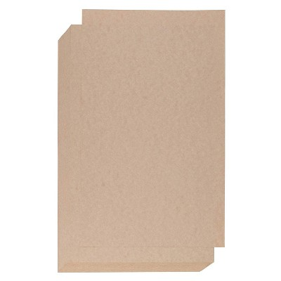 Best Paper Greetings 60 Sheets Brown Parchment Paper, Stationary Card Stock Paper, Legal Size 8.5 x 14 in