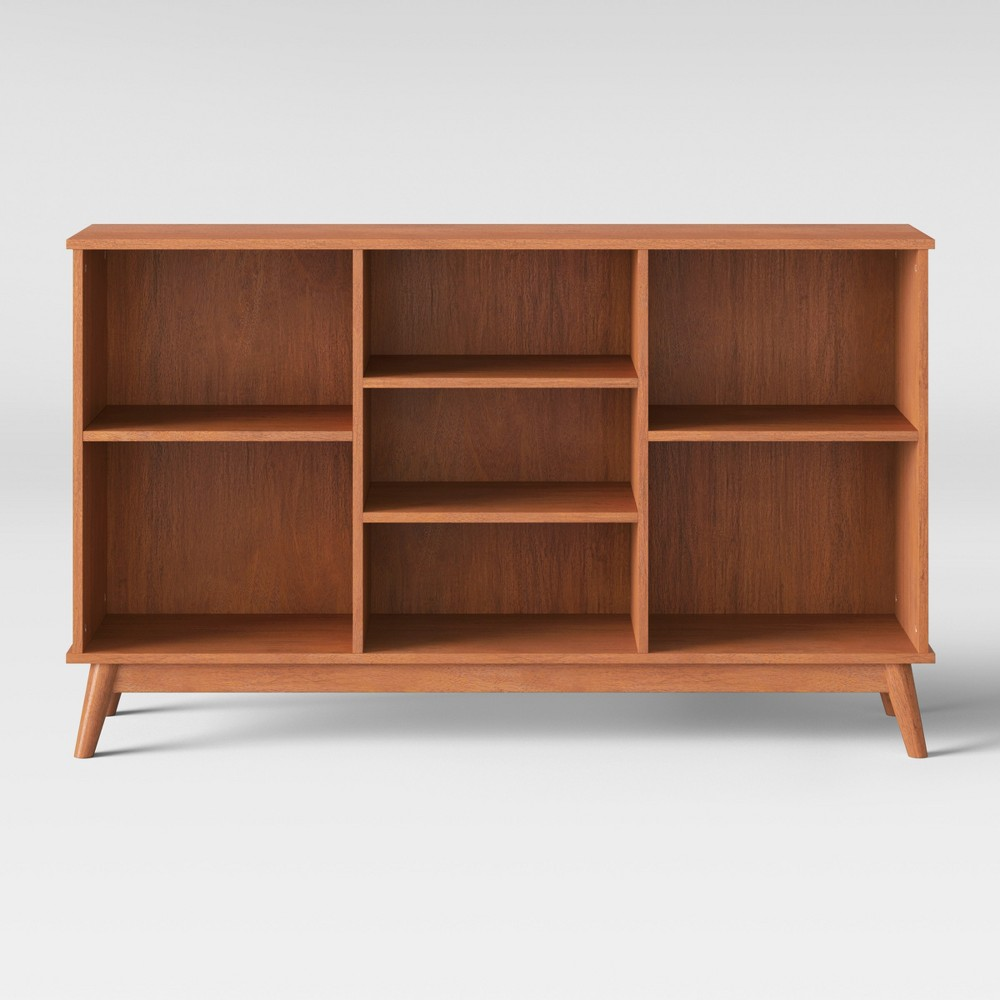Amherst Mid Century Modern Horizontal Bookcase Project 62 8482