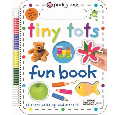 Tiny Tots Fun Book (Paperback) (Roger Priddy) - image 1 of 1