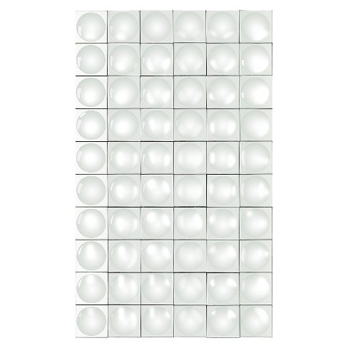 Rectangle Geometric Grid Decorative Wall Mirror - Lazy Susan - image 1 of 1
