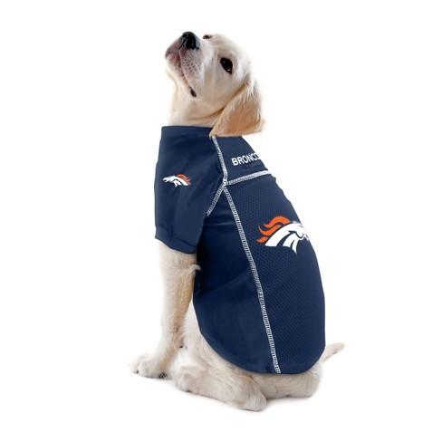super popular 0dde9 69dac Denver Broncos Little Earth Pet Football Jersey - Navy XS ...