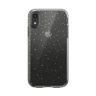 Speck Apple iPhone XR Presidio Clear + Glitter Case - Clear (with Glitter)