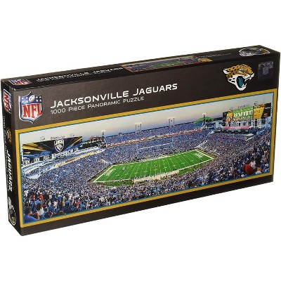 MasterPieces Inc Jacksonville Jaguars NFL 1000 Piece Panoramic Jigsaw Puzzle