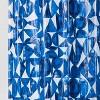 PEVA Shower Curtain Geometric Blue - Room Essentials™ - image 2 of 2