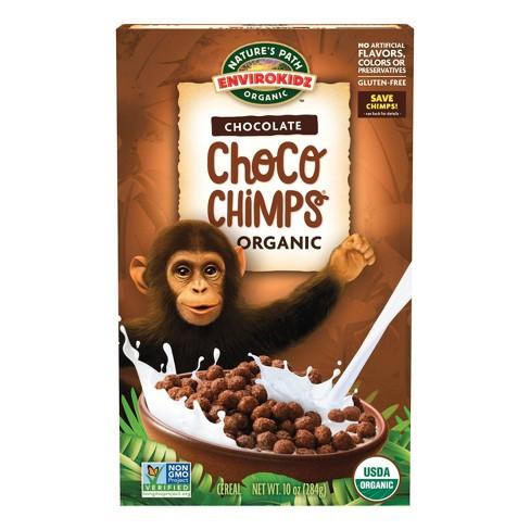 Nature's Path EnviroKidz Choco Chimps Breakfast Cereal - 10oz - image 1 of 4