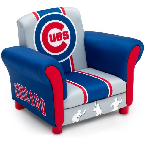 MLB Chicago Cubs Kid's Upholstered Chair - Delta Children - image 1 of 5