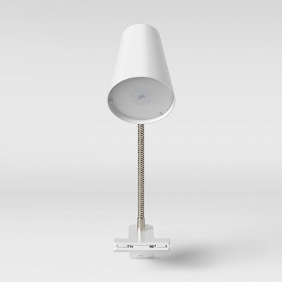 LED Clip Table Lamp White (Includes Energy Efficient Light Bulb)- Room Essentials™