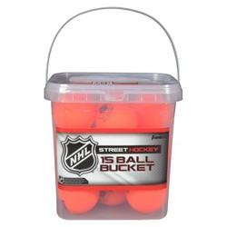 Franklin Sports NHL High Density Balls 15pc Bucket