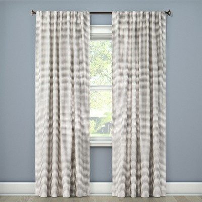 Honeycomb Woven Light Filtering Curtain Panel - Threshold™