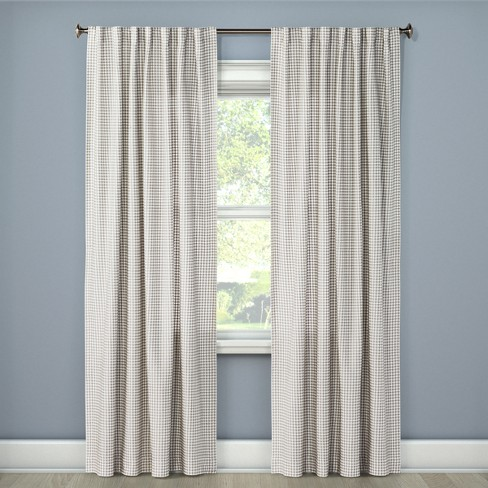 Honeycomb Woven Light Filtering Curtain Panel - Threshold™ - image 1 of 2