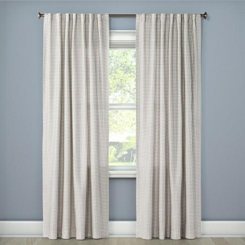 Honeycomb Woven Curtain Panels