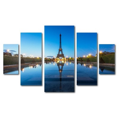 'Blue Hour' by Mathieu Rivrin Ready to Hang Multi Panel Art Set