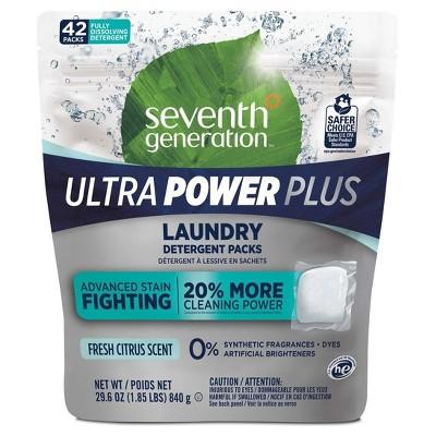 Seventh Generation™ Fresh Citrus Laundry Packs - 42ct