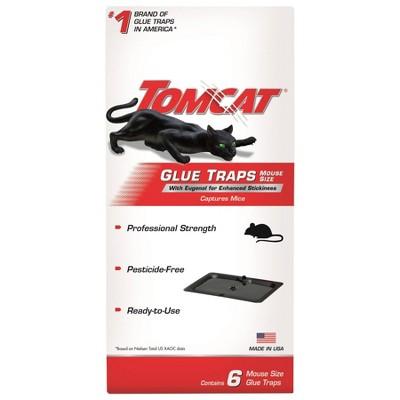 TomCat Mice Glue Traps - 6ct