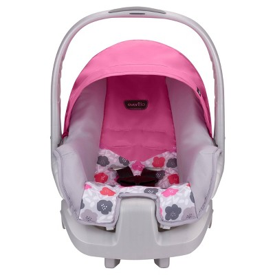 Evenflo Nurture Infant Car Seat Pink Bloom