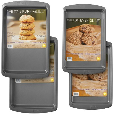 Wilton 2pc Non-Stick Cookie Baking Sheet Set