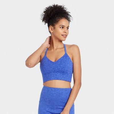 Women's Strappy Longline Brushed Jersey Bra - JoyLab™