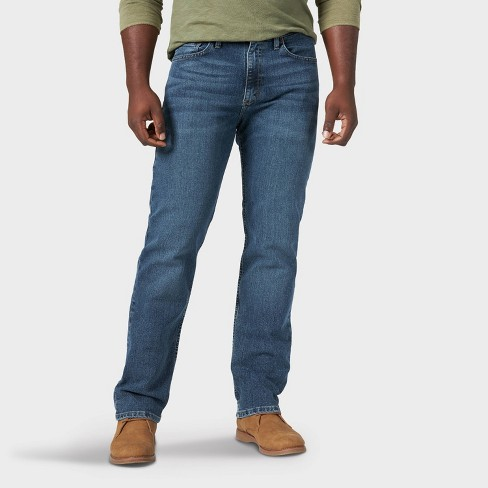 Wrangler Men's Relaxed Fit Straight Jeans - image 1 of 4