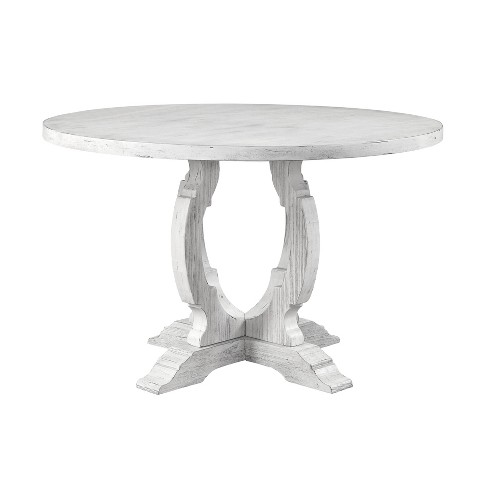 48 Orchard Park Round Dining Table White Treasure Trove Target