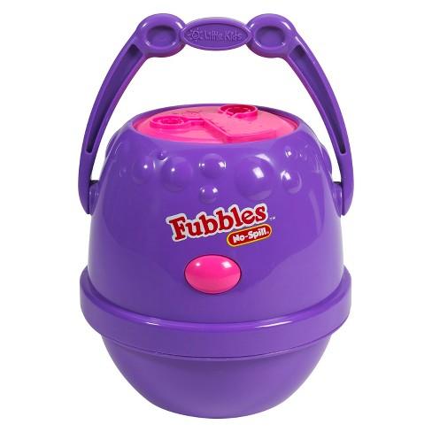 No Spill Bubble Machine Target