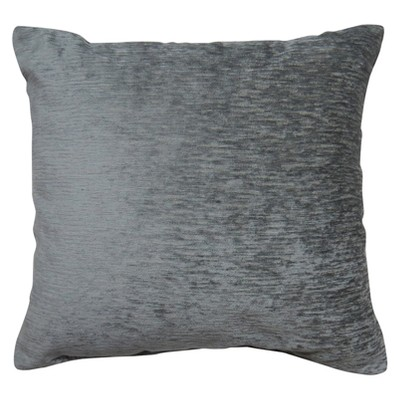 Oversize Square Chenille Pillow Gray - Threshold™