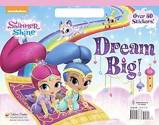 Dream Big! - (Big Coloring Book) (Paperback)