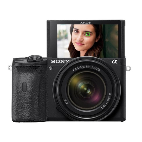 Sony Alpha a6600 Mirrorless Digital Camera with 18-135mm Lens - image 1 of 4